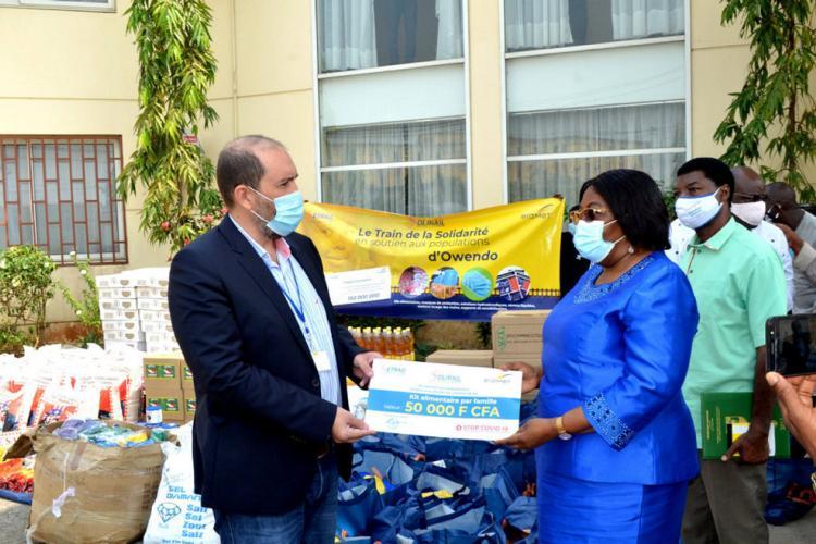 Solidarité : Setrag se mobilise à Owendo
