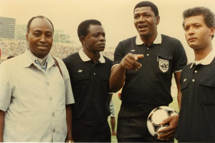Arbitrage : Jean-Fidèle Diramba, 30 ans après, plus rien!