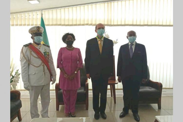 Gabon-Russie : les adieux de Dimitry Kourakov à Pacôme Moubelet Boubeya