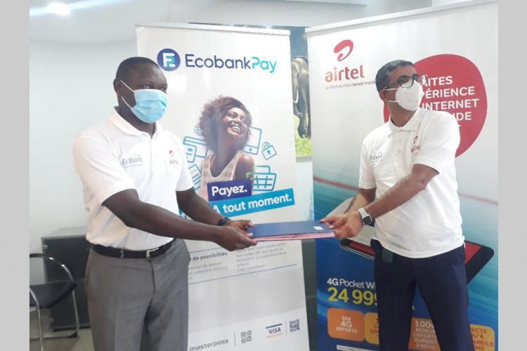 Banque : Ecobank en partenariat avec AirtelMoney