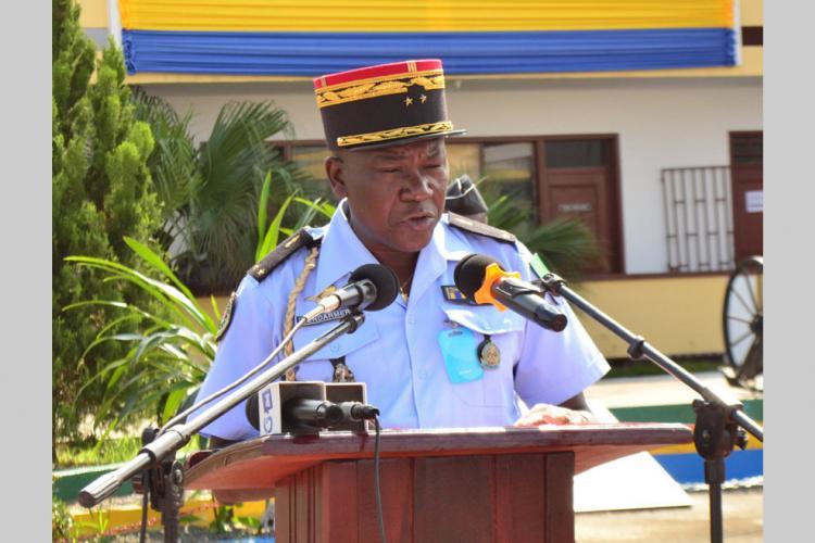 Gendarmerie nationale : Yves Barassouaga rappelle à ses troupes leurs obligations