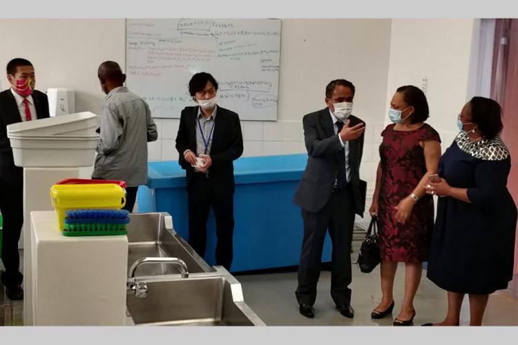 Capal : le nouvel ambassadeur du Japon en visite