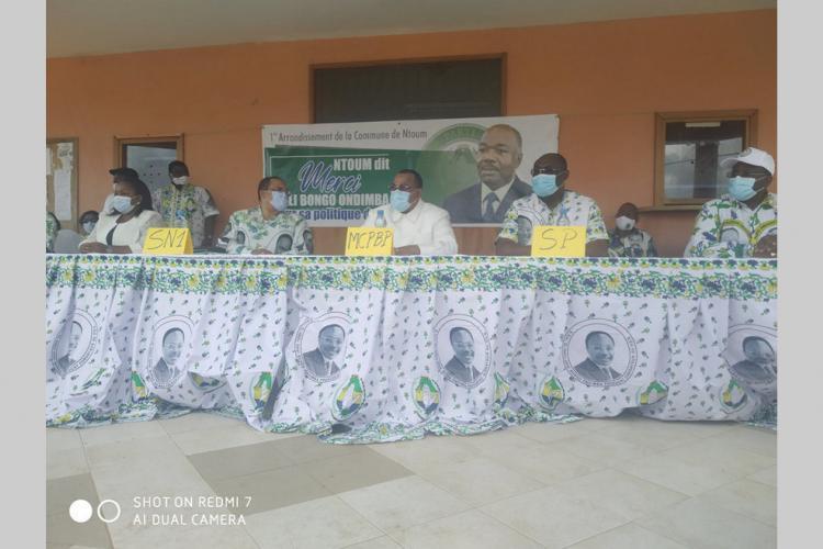PDG : Camélia Ntoutoume communie avec les siens
