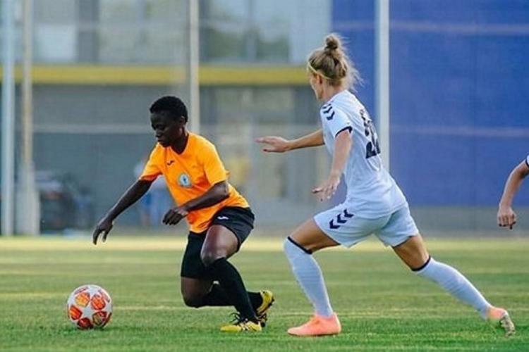 Football : Arielle Yog Atouth ouvre son compteur but en Ukraine