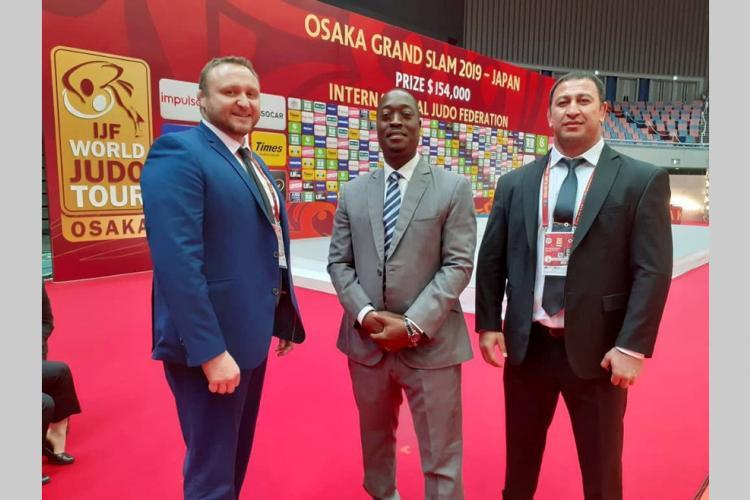 Judo : l'arbitre Jean-Claude Djimbi invité au Grand Chelem de Budapest
