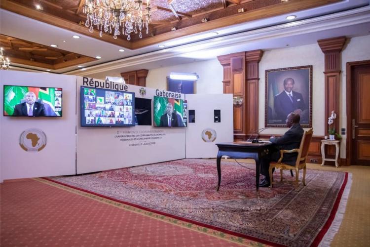 UA-CER-MR : Ali Bongo Ondimba porte la voix de la sous-région