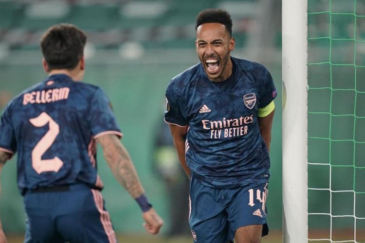 Ligue Europa de l'UEFA : Arsenal s'en sort grâce à Aubameyang