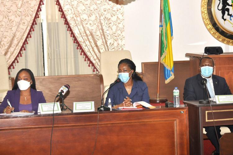 Justice : Antonella Ndembet Damas sollicite un budget de plus de 36 milliards