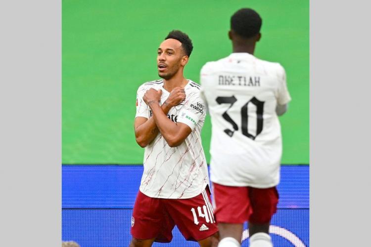 Football : Aubameyang dans le onze-type des joueurs africains du week-end