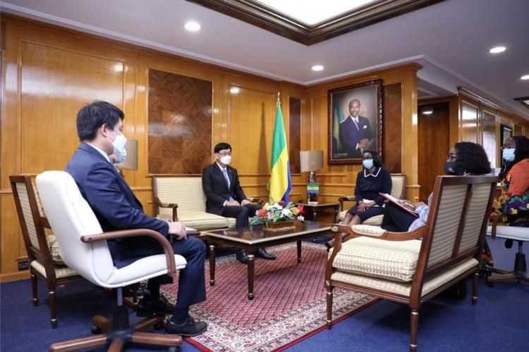Gabon-Corée du Sud : la dynamisation de la coopération bilatérale évoquée à la Primature