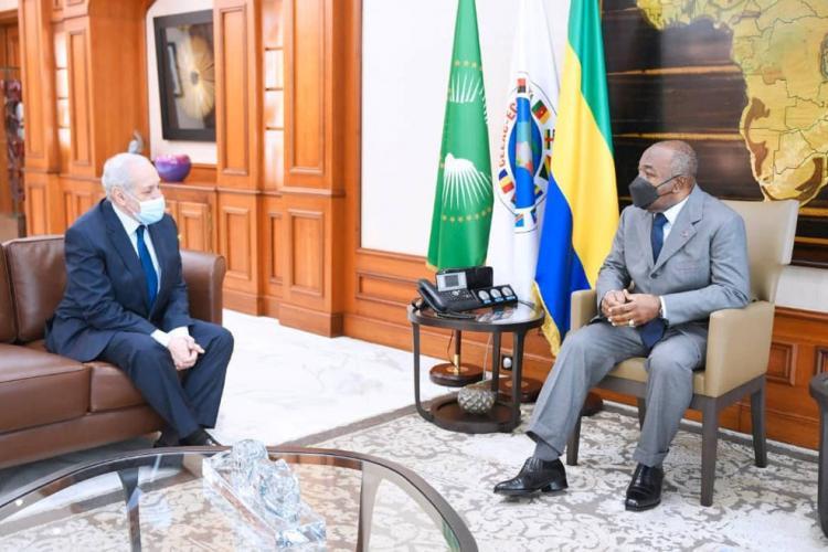 Gabon-Algérie : Mohamed-Antar Daoud fait ses adieux à Ali Bongo Ondimba