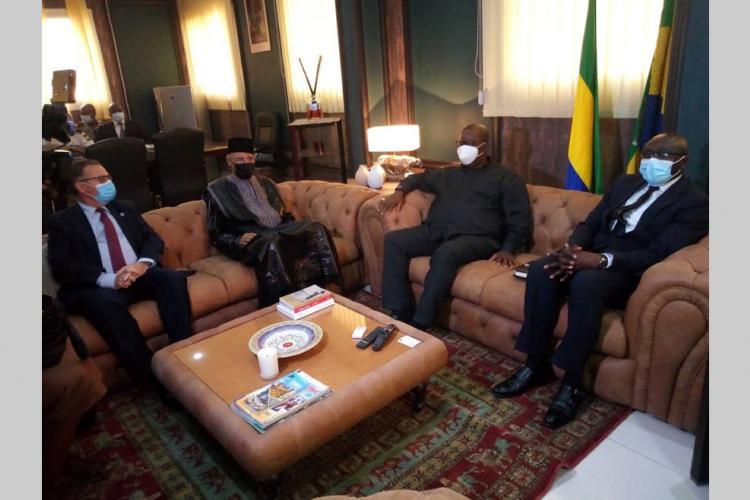 Transport : le ministre de la Défense échange avec le directoire de l'Asecna