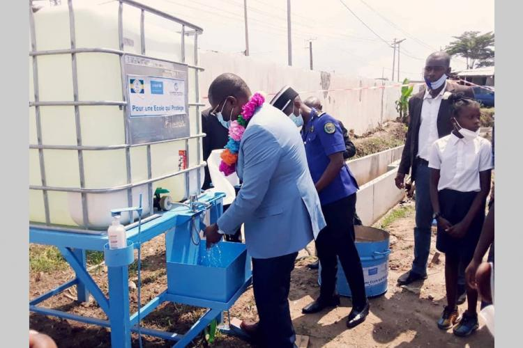 Covid-19 : 757 établissements scolaires dotés d'équipements sanitaires