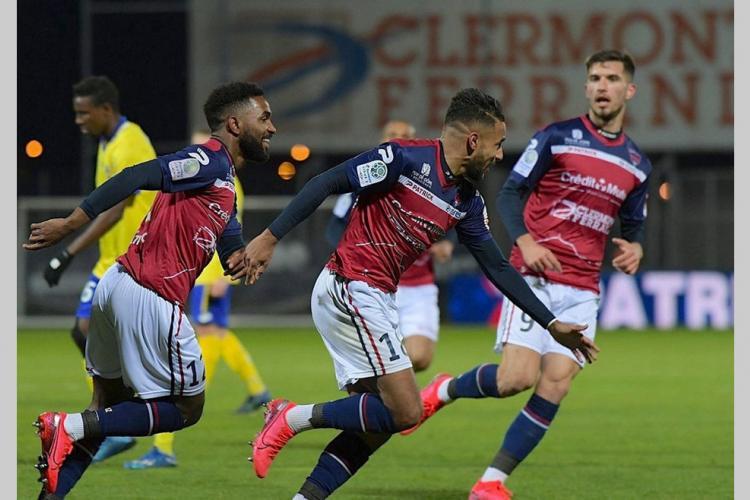 Football : Quand Alevinah marque, Clermont monte sur le podium