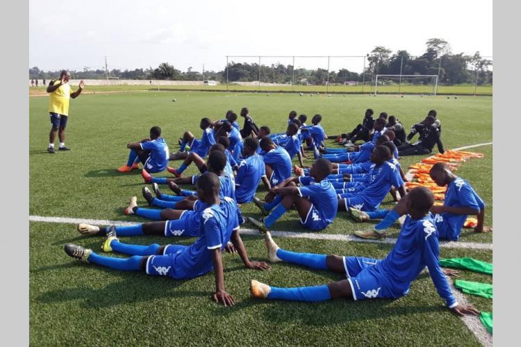 Gabon/Football : Les Panthères U17 en regroupement