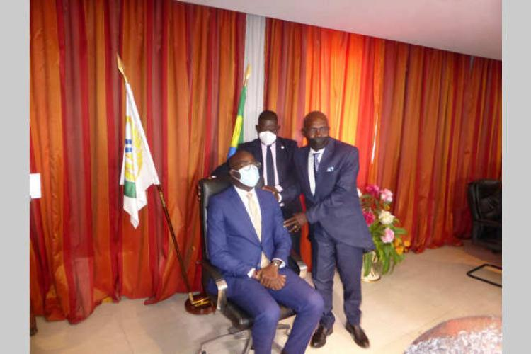 CNSS : les ambitions de Patrick Ossi Okori