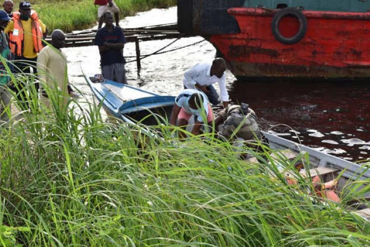 Omboue : naufrage d'une ressortissante Congolaise