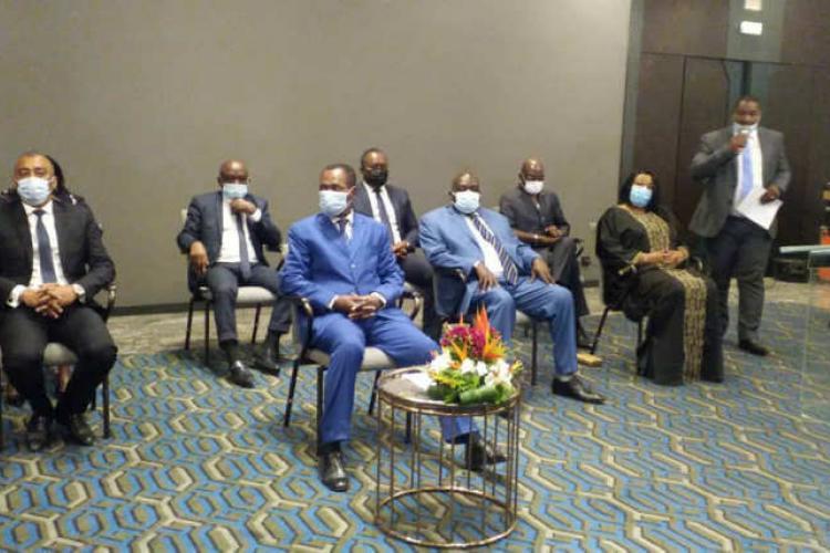 """René Ndemezo'Obiang : """"La vie politique d'un pays n'est pas statique, elle est plutôt dynamique"""""""