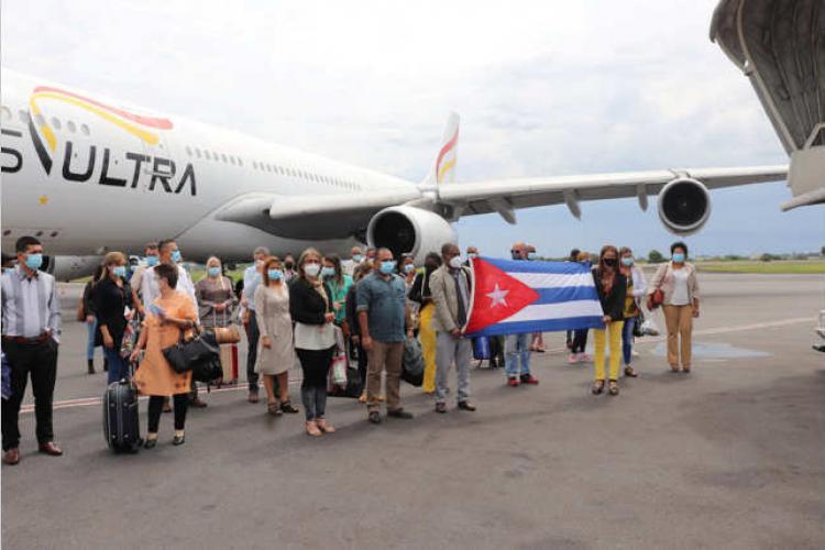 Santé : Renfort des médecins cubains