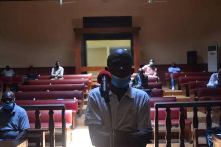 Port-Gentil : la liberté pour Fabrice Ndong Nsome