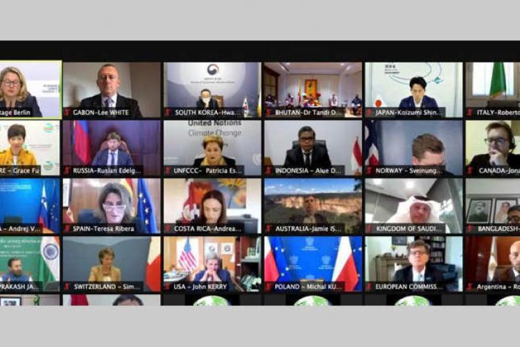 Climat : 12e réunion du Dialogue dit de Petersberg