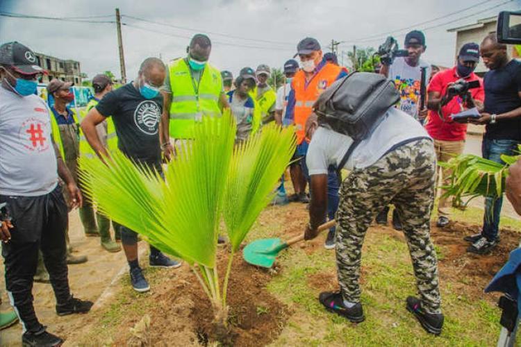 Environnement : Belle initiative d'Atlético et de la mairie d'Akanda