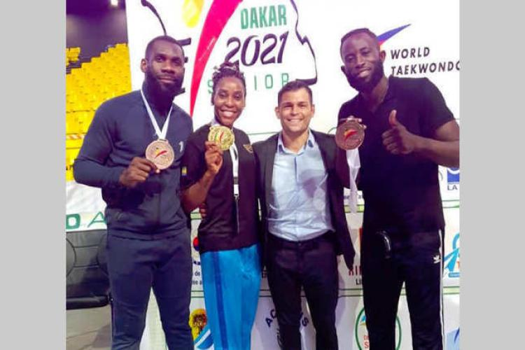 TAEKWONDO : Urgence Mouega: de Maputo à Dakar, à nouveau le temps des promesses pour la taekwondoïste gabonaise