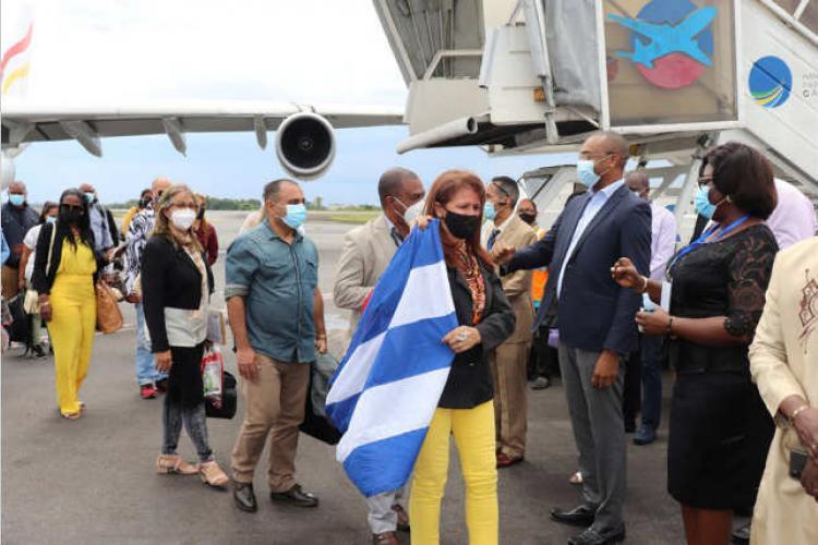 Santé : L'équipe médicale cubaine enfin déployée