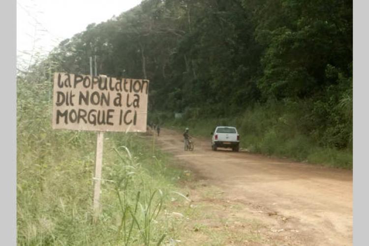 """Cap Santa Clara : """"La population dit non à la morgue ici"""""""