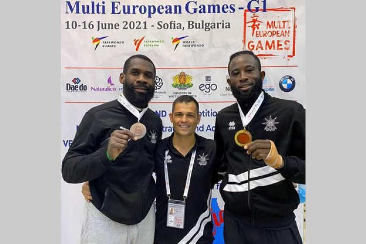Multi european games de taekwondo : Antony Obame encore en bronze