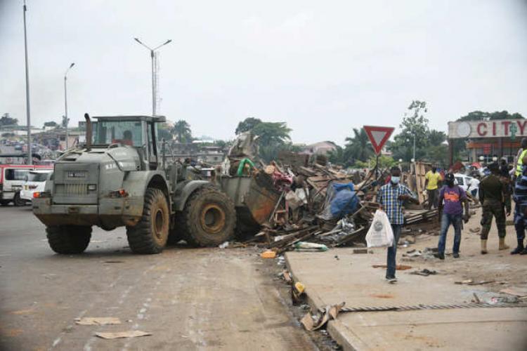 Restauration de la voie publique : Le grand nettoyage a commencé