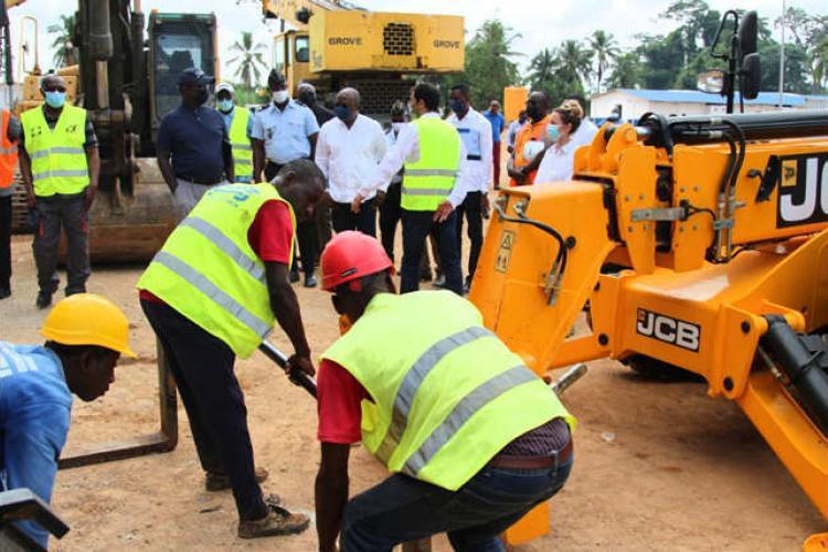 Adduction d'eau du Grand Libreville : où en sont les travaux?