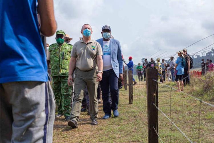 Conflit homme-éléphant : La barrière de Guiti-Ibatu inaugurée