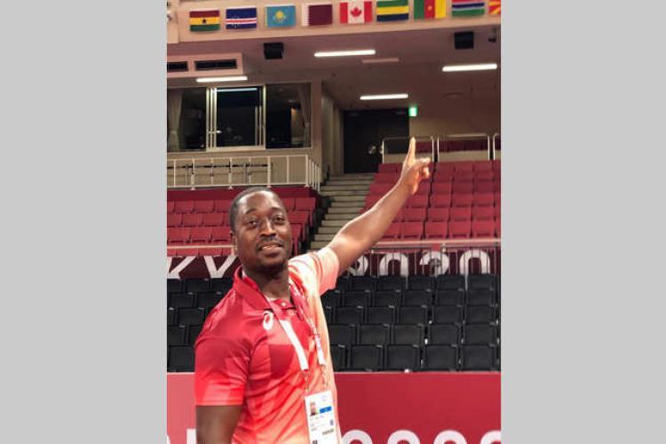12:Arbitres gabonais aux JO : Focus sur Me Jean-Claude Djimbi