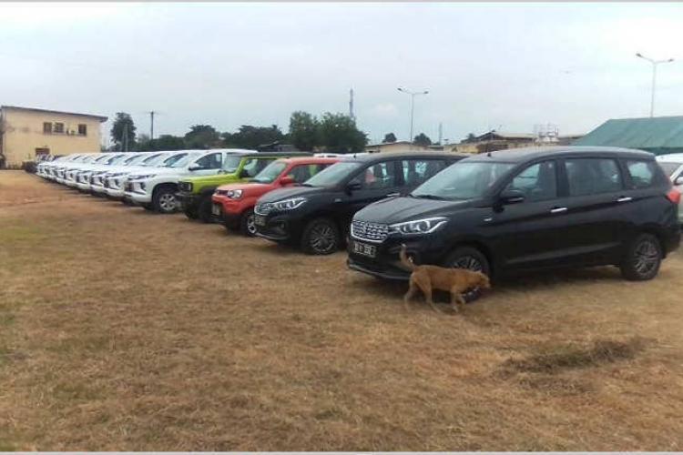 Sécurité : Dotation de 37 véhicules aux FPN