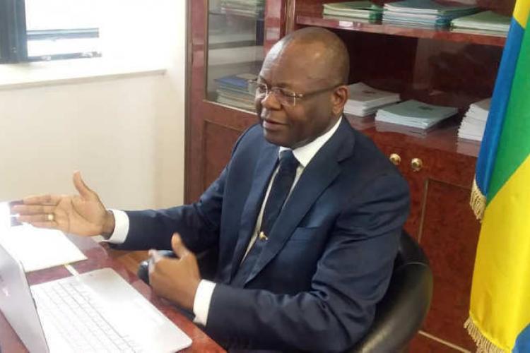 6è assemblée générale de l'APNODE : Jean-Pierre Oyiba présent aux assises