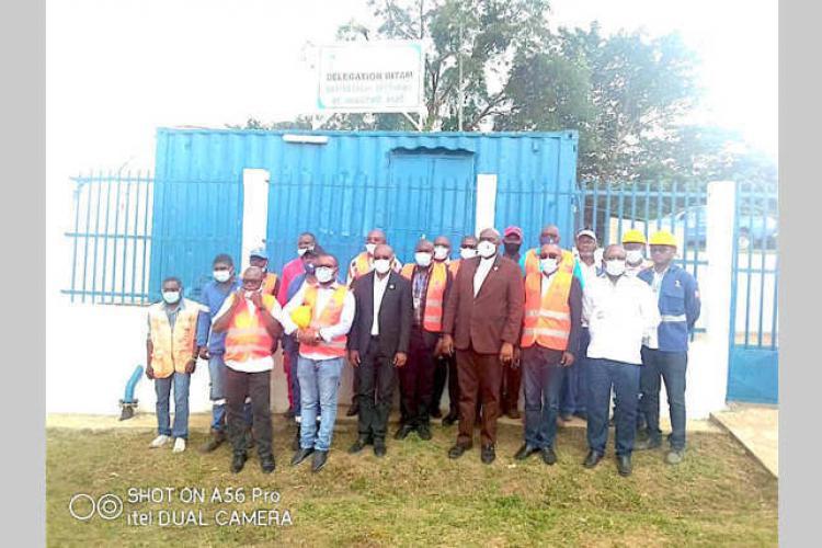 Bitam : la SEEG livre un suppresseur sectoriel à Mengomo-Ayat