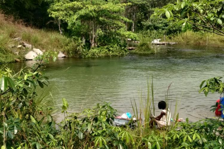 Gabon profond : Les eaux claires!