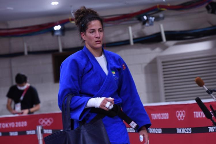 JO Tokyo 2020 : Sarah Mazouz battue par hippon