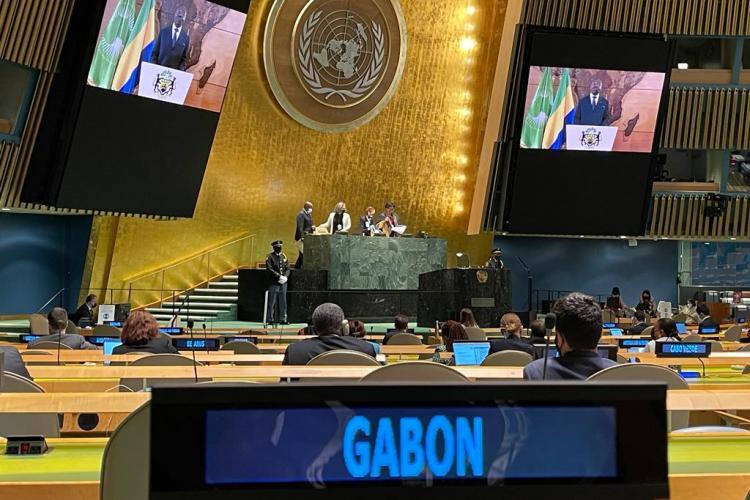 76e Session ordinaire de l'Assemblée générale de l'Onu: Ali Bongo Ondimba, chantre d'un nouvel ordre mondial plus solidaire