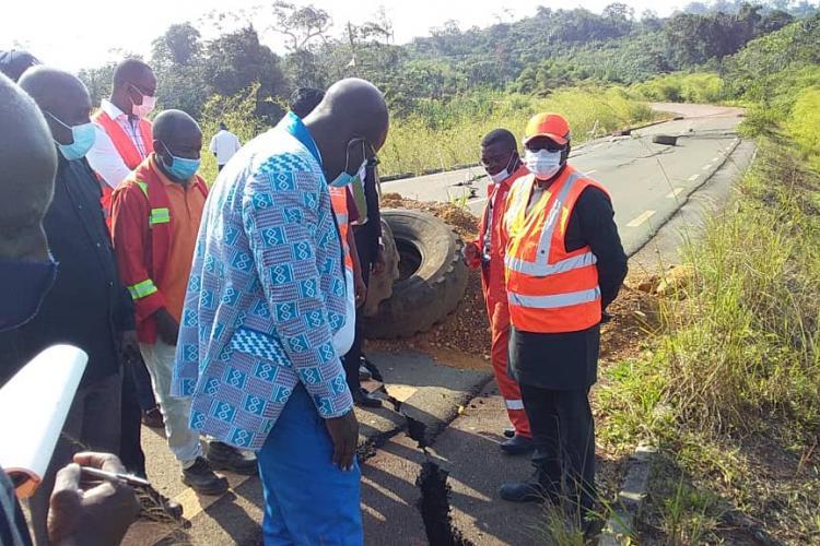 Routes du Haut-Ogooué: attention aux érosions