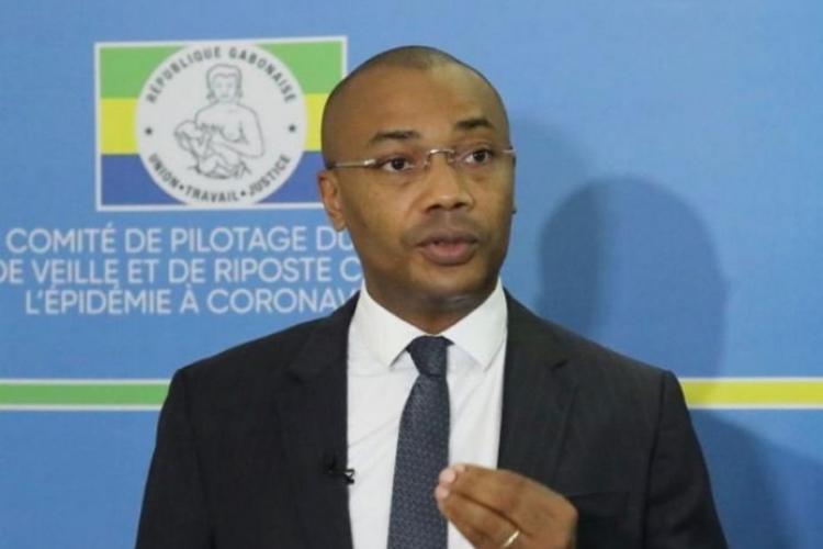 Le ministre de la Santé, Guy Patrick Obiang Ndong