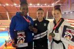 Mouega médaillée d'or à l'Open d'Albanie