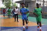 """Handball : Willy Moure Nguema : """"Tout le monde est content de retrouver la sélection"""""""
