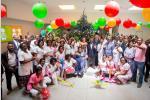 Festivités de la Noël : Le couple présidentiel au chevet des jeunes pensionnaires du CHU Jeanne Ebori