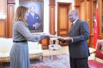 Diplomatie : Quatre nouveaux ambassadeurs accrédités dans notre pays