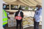 Banque alimentaire : des kits pour la prison centrale de Libreville