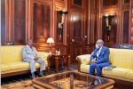 Activités présidentielles : Ali Bongo Ondimba reçoit Dodo Bounguendza