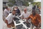 Football : Patrice Neveu en mission de prospection