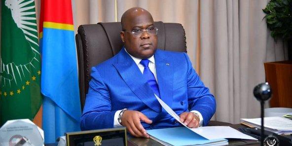 Le président de la RDC, Félix Tshisekedi